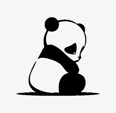 403x393 Panda, Hand Painted Panda, Cartoon Panda, Red Panda Png Image