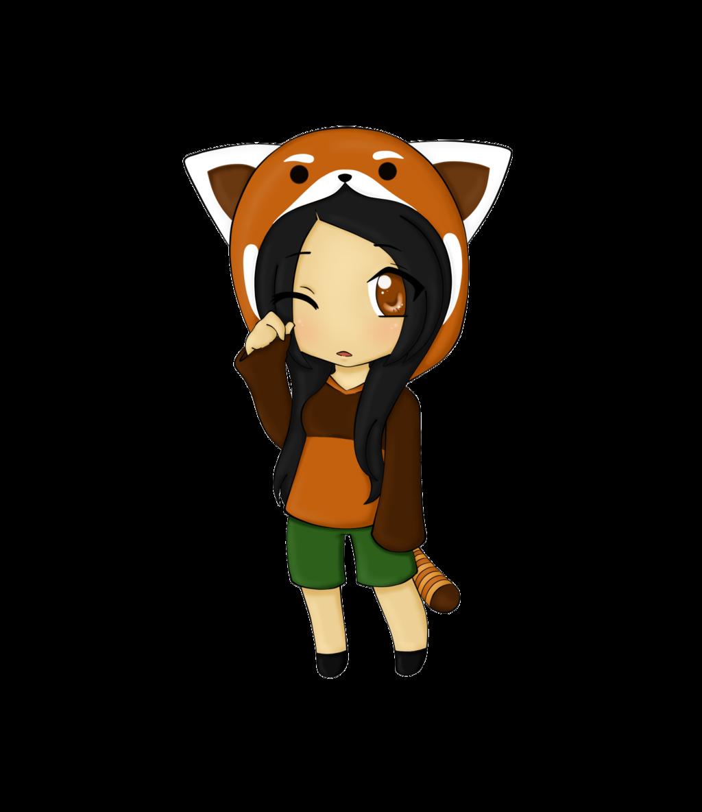 1024x1184 Sleepy Red Panda By Chibipandamonster