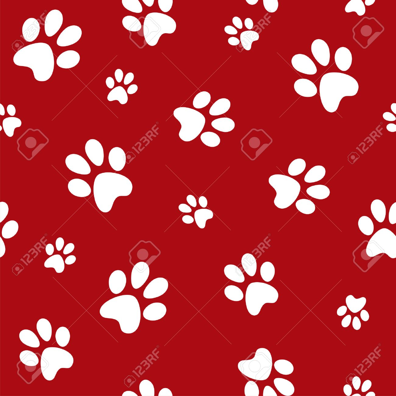 1300x1300 Red Paw Print Background Godstyle Keywords And Pictures