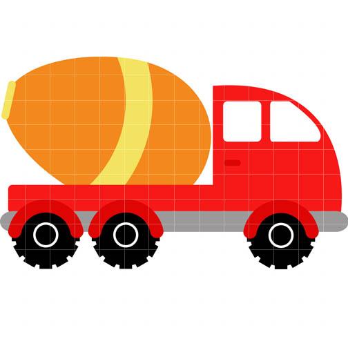 504x504 Cement Clipart Truck