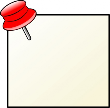 425x417 Post It Clipart Red