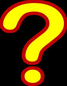 231x297 Question Mark Clip Art