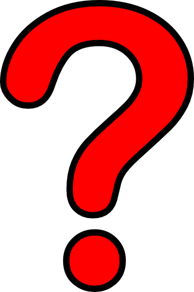 396x597 Question Mark Red Clip Art