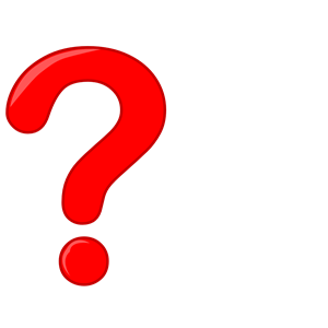 300x300 Question Mark Clipart Red