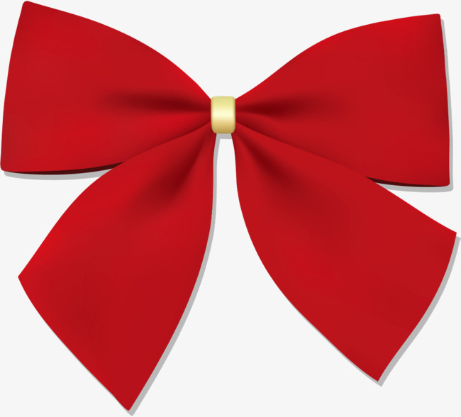 650x588 Hand Painted Red Ribbon Bow, Hand Drawn Ribbons, Simple, Like