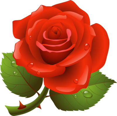 400x396 Rose Clip Art Images