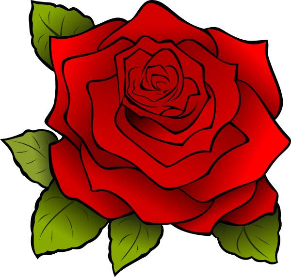 600x572 Rose Clip Art Many Interesting Cliparts