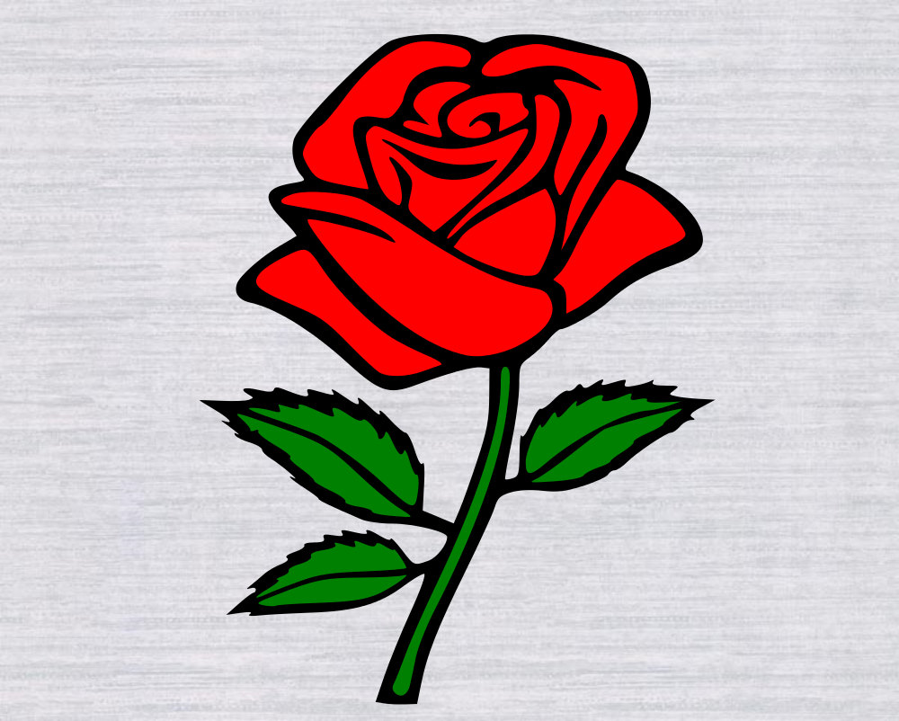 1000x802 Top 84 Red Rose Clip Art