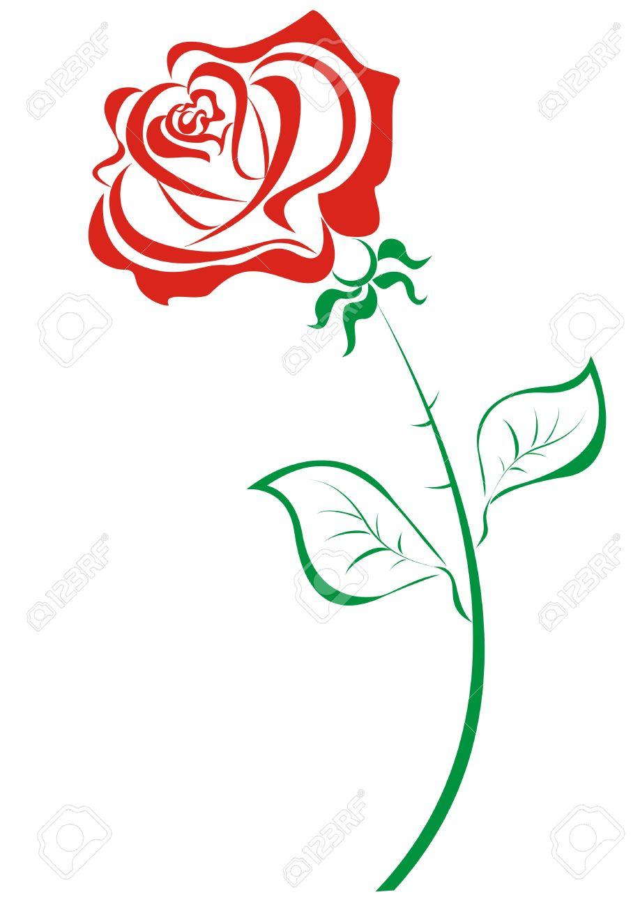 918x1300 Red Rose Clip Art