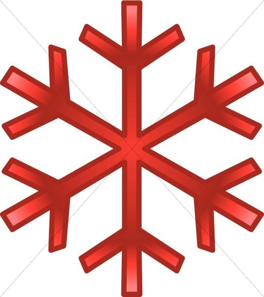 544x612 Red December Snowflake Snowflake Images