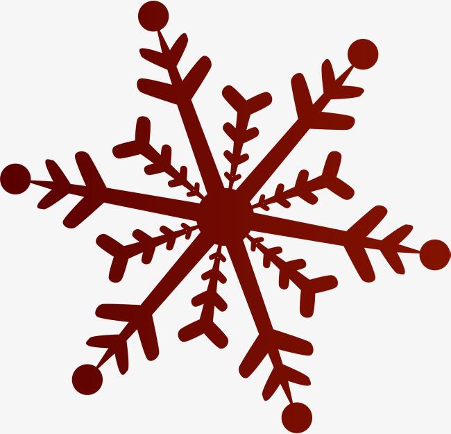 650x625 Cartoon Red Snowflake, Cartoon, Gules, Snowflake Png Image