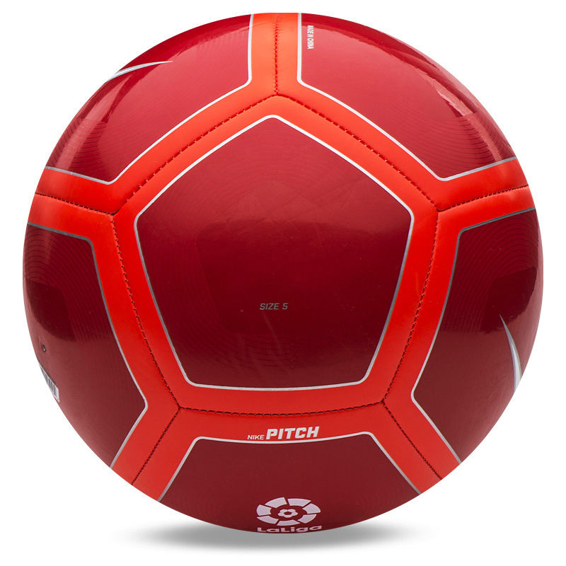 800x800 Nike 2017 Pitch La Liga Soccer Ball Football Redorangewhite