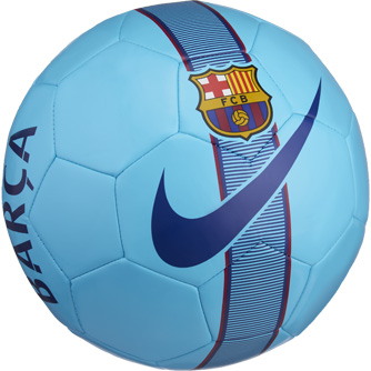 334x334 Nike Barcelona Supporters Soccer Ball Nike Soccer Ball