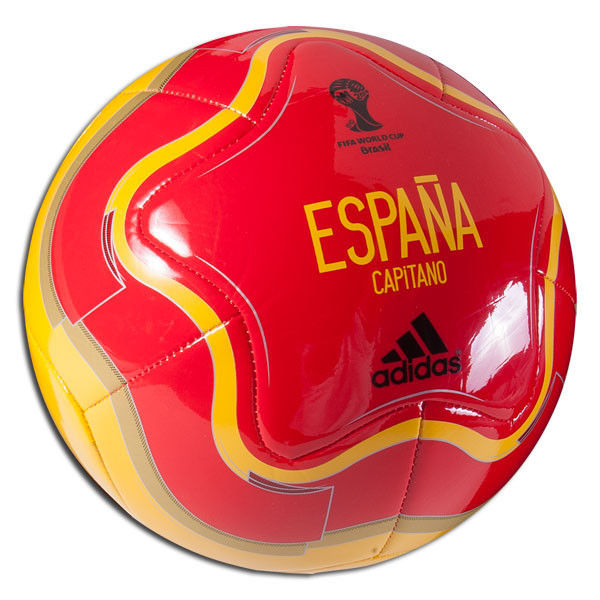 600x600 Adidas Wc World Cup 2014 Capitano Spain Espana Soccer Ball Red