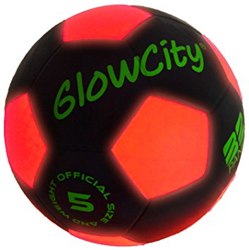 353x355 Light Up Led Soccer Ball Black Limited Edition Toys