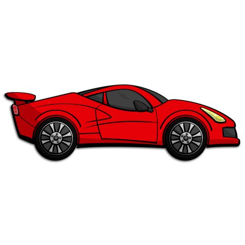 Red Sports Car Clipart Free Download Best Red Sports Car Clipart