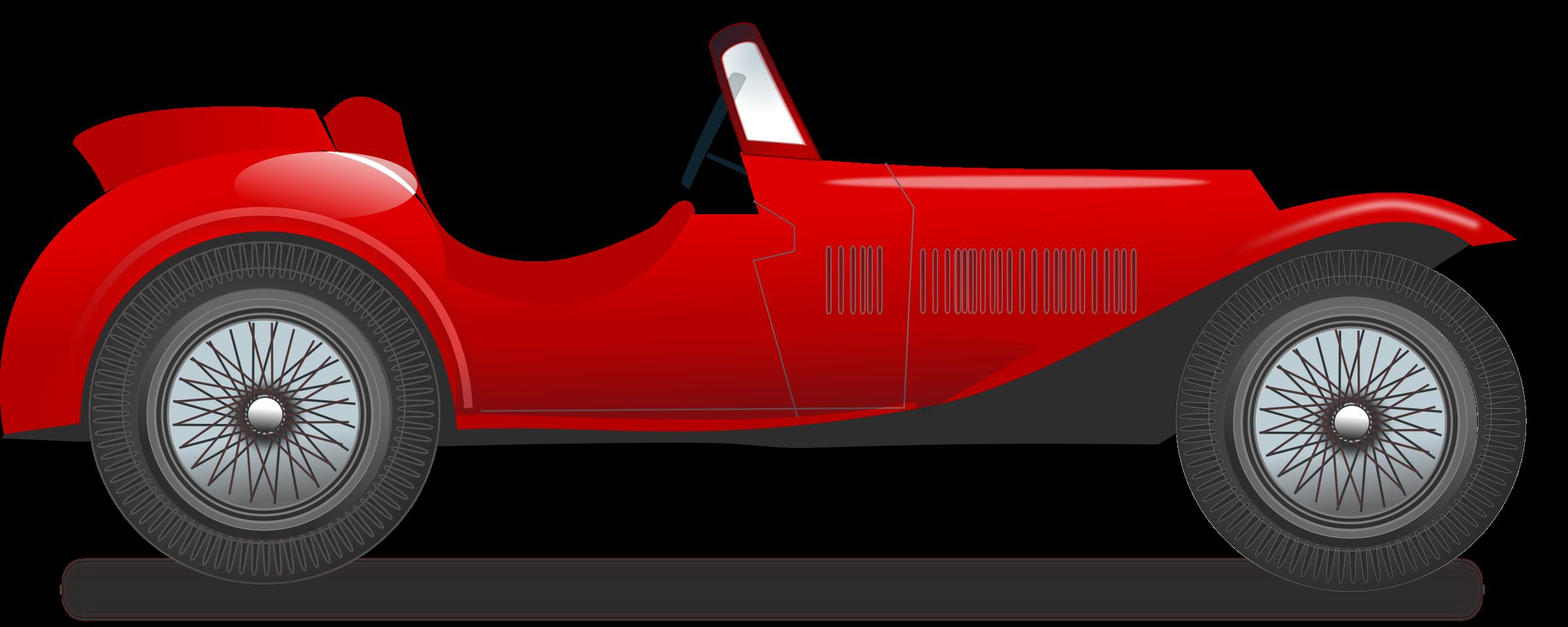 2400x960 Classic Car Clipart Racing Car