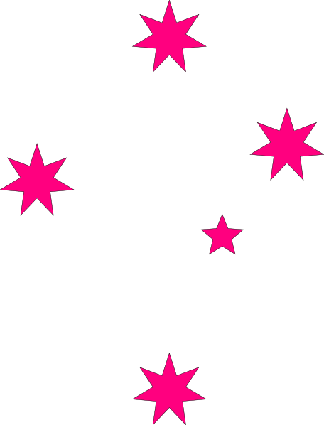 456x598 Pink Star Clipart