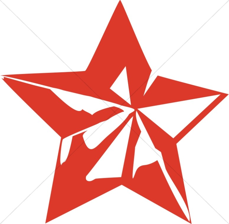 776x759 Red Star Decoration Christian Star Clipart