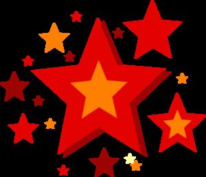 300x258 Stars Clip Art