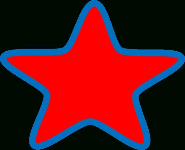 600x488 Top 10 Red Star Clip Art
