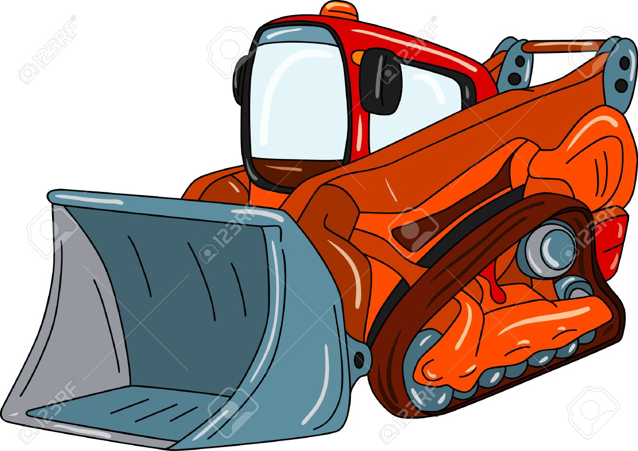 Red Tractor Clipart