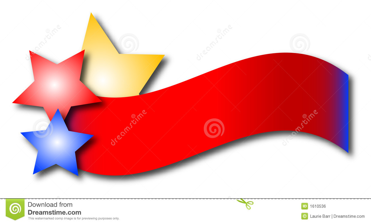 red white and blue banner clipart free download best red white and