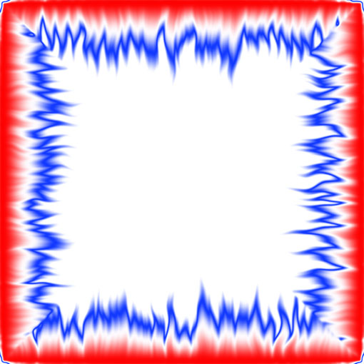 510x510 Red White And Blue Border Clip Art