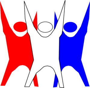 299x294 Red White And Blue Freedom Clip Art