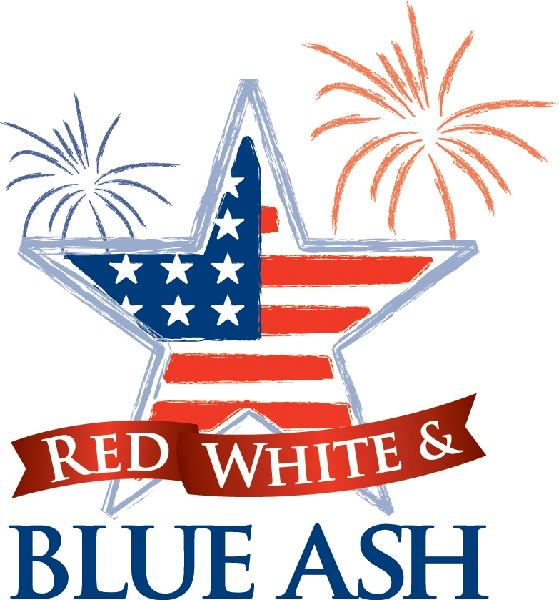 559x600 Red, White And Blue Ash
