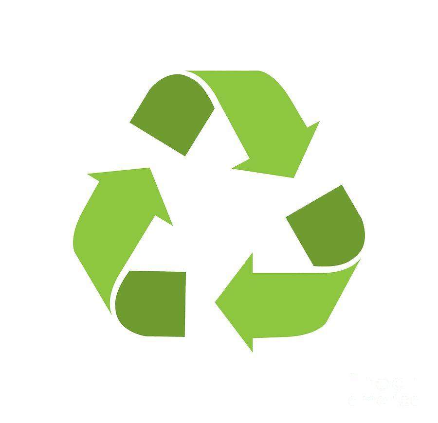 900x870 Green Reduce, Reuse, Recycle, Repurpose Mother Earth Digital Art