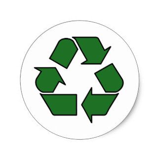 324x324 Reduce Reuse Recycle Symbol Craft Supplies Zazzle