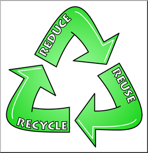 304x314 Clip Art Reduce, Reuse, Recycle Logo 1 Color 2 I