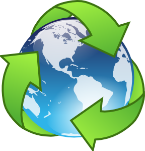 288x299 Clipart Recycling