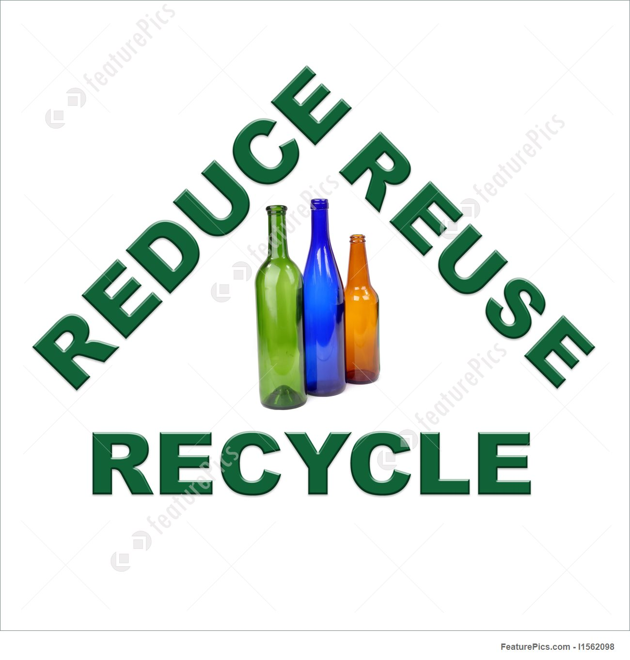 1300x1360 Color Glass Recycling Stock Picture I1562098