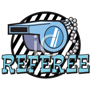 Referee Clipart