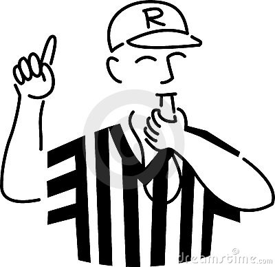400x388 Referee Clip Art