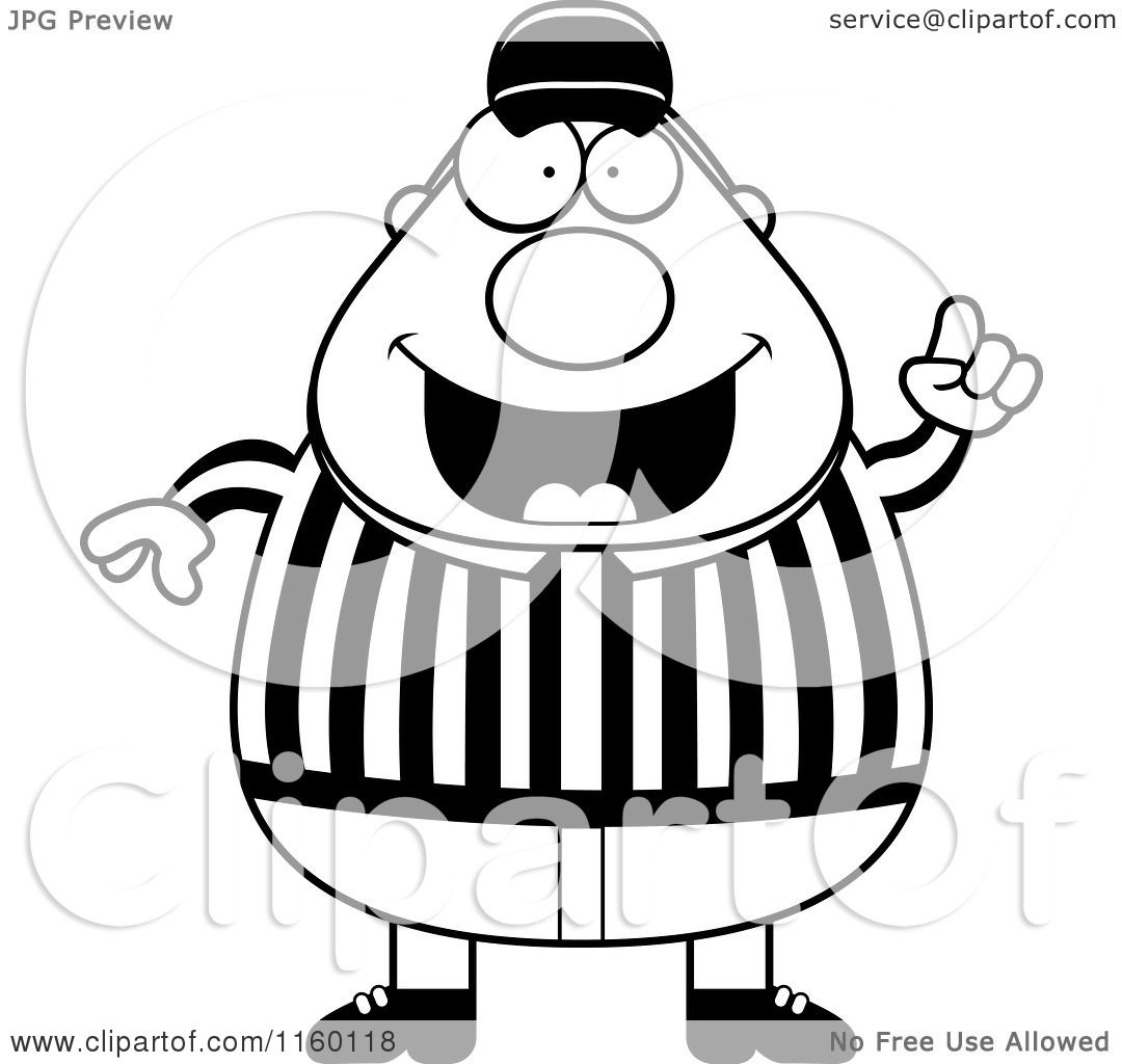 1080x1024 Referee Clip Art Black And White Cliparts