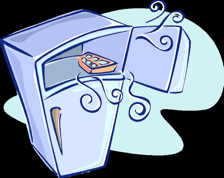 753x600 Compact Refrigerator Freezer Cartoon Clip Art Cliparts