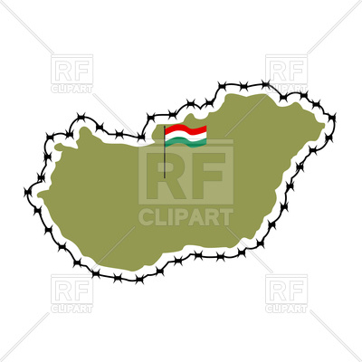 400x400 Map Of Hungary