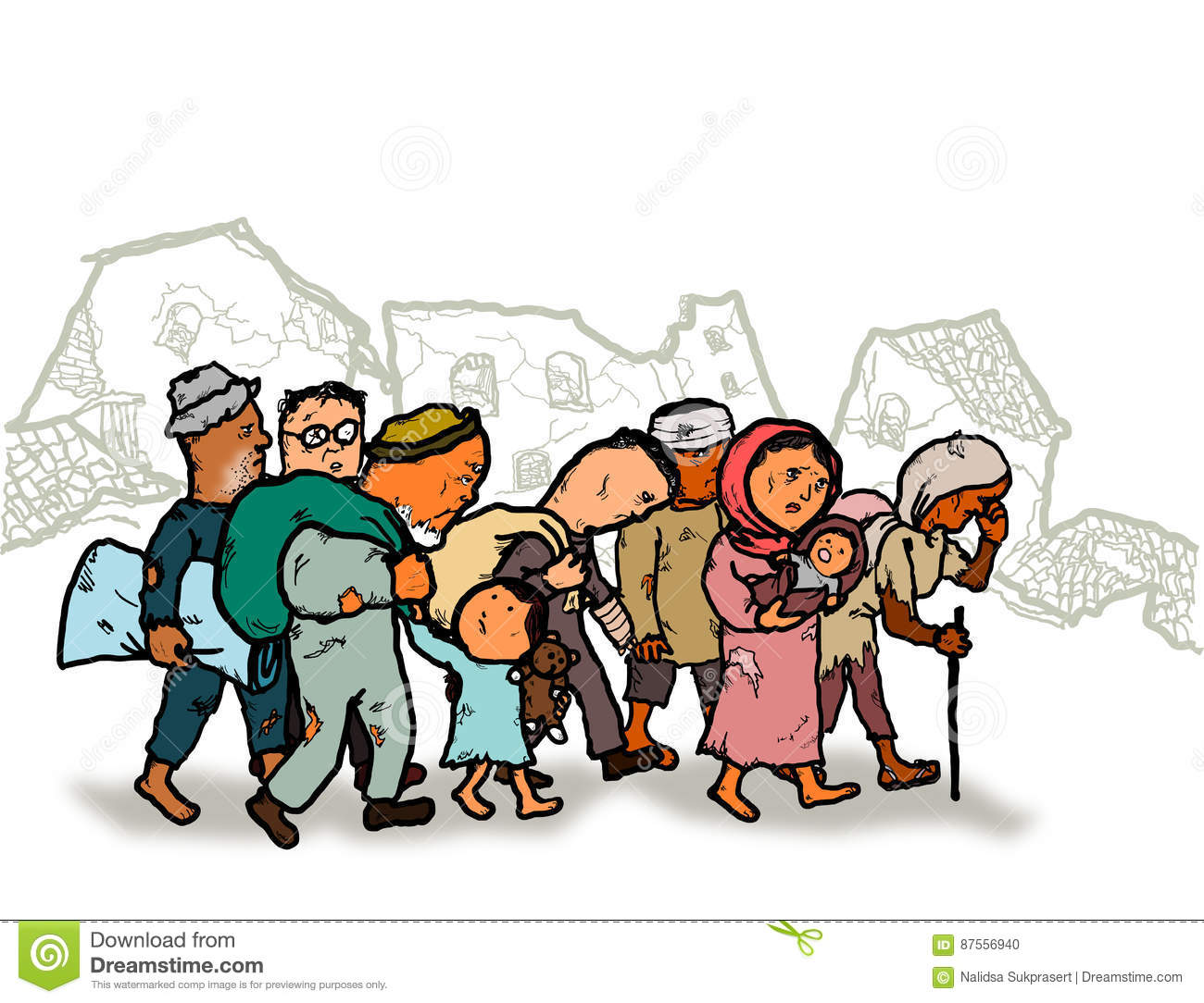 1300x1084 Migration Clipart Person Cartoon