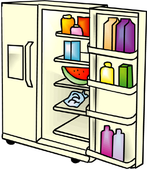 304x350 Refrigerator Pictures Clip Art Clipart