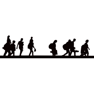 300x300 Refugees Clipart, Cliparts Of Refugees Free Download (Wmf, Eps