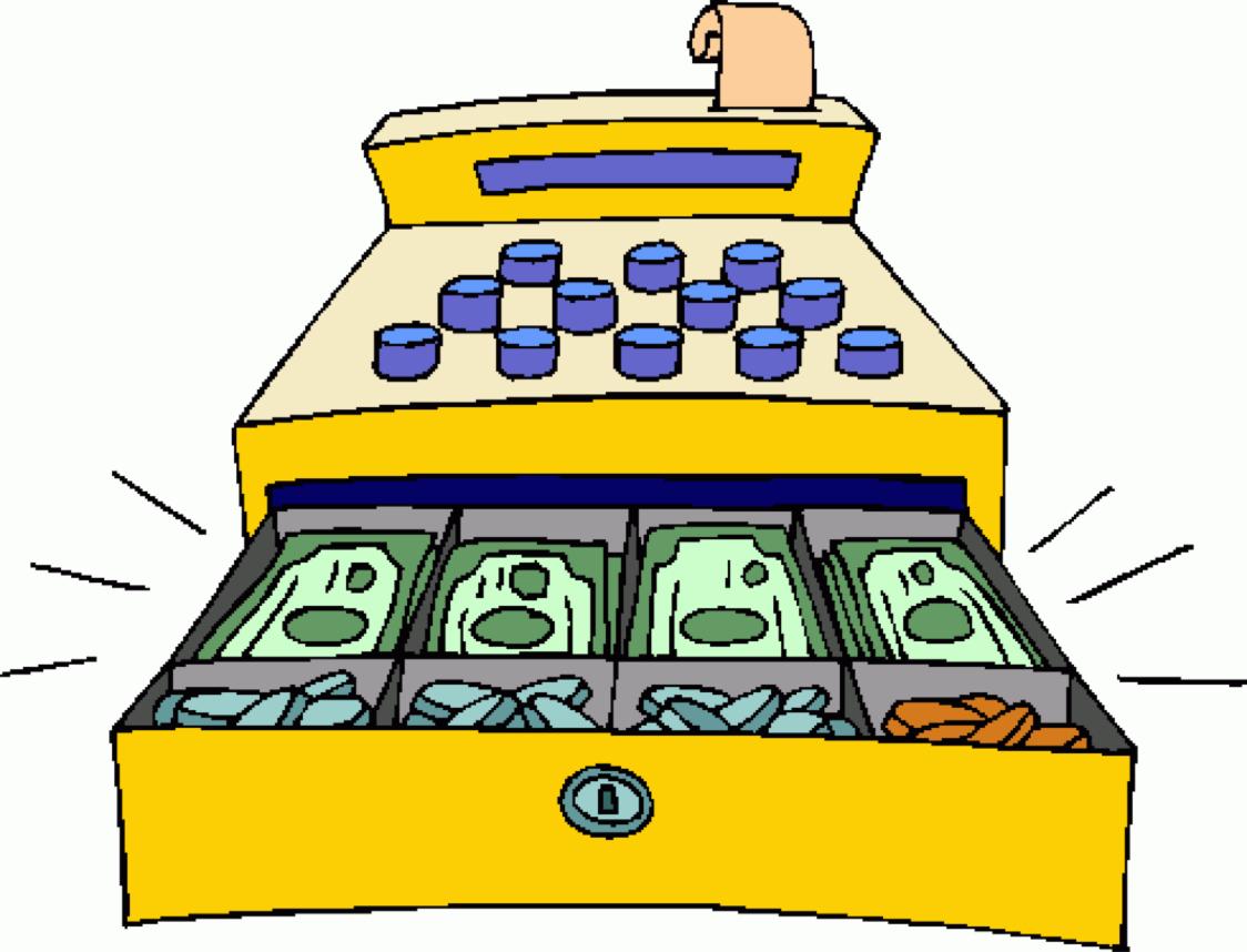 Cashier Cartoons: Free Download Best Register Clipart On