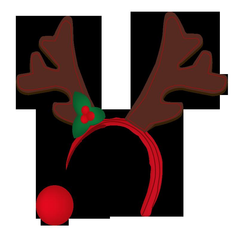 800x800 Antler Clipart Reindeer Hat
