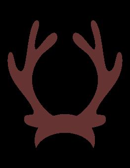 263x340 Antler Clipart Reindeer Hat