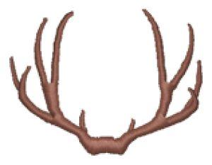 300x233 Antler Clipart Deer Rack