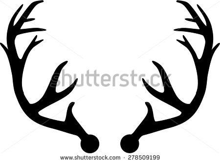450x334 Deer Clipart Deer Horn