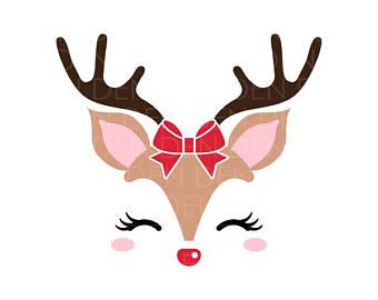 340x270 Reindeer Svg Reindeer Head Svg Reindeer Clip Art Reindeer