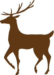 218x300 Free Reindeer Clipart Image